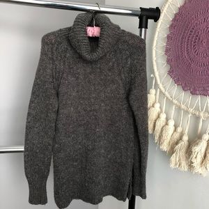 Anthropologie Ruby Moon Grey Wool Blend Sweater